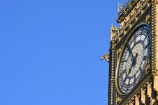Free The Bigben Tower Clock Royalty Free Stock Images - 21080039