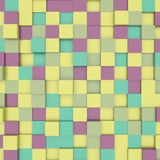 Free Abstract Image Of Cubes Background Stock Images - 21080254