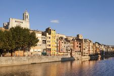 Free Girona Cathedral Stock Photography - 21081632