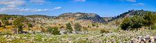 Rural Landscape In Turkey Royalty Free Stock Photos