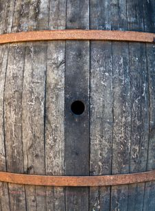 Old Barrel Royalty Free Stock Image
