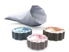 Free Cornucopia And Banknotes Royalty Free Stock Photo - 21084015