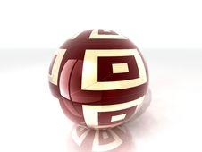 Free Wood Glass Ball Stock Photo - 21084110