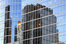 Free Window Reflection In Vancouver Royalty Free Stock Image - 21084116