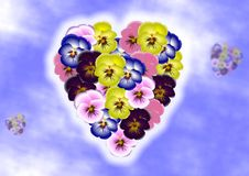 Free Flower Heart Royalty Free Stock Photo - 21084915