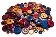 Free Group Of Buttons Stock Photography - 21085282