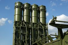 Free Modern Russian Anti-aircraft Missiles Stock Image - 21085321