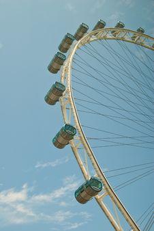 Free Closeup Of Ferris Wheel Royalty Free Stock Image - 21085946