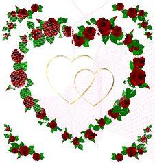Free Background Wedding Rose Stock Photo - 21086410