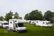 Free Camper Royalty Free Stock Photo - 21086855