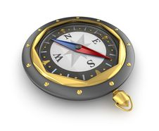 Free Compass. Old Style Royalty Free Stock Image - 21087096
