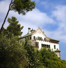 Free House In Park Guell, Barcelona Royalty Free Stock Photography - 21088127