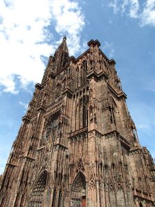 Free Strasbourg Cathedral Stock Photo - 21088260