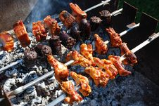 Free Barbecue Royalty Free Stock Photography - 21088337