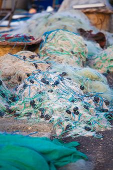 Free Fishing Nets Stock Image - 21088531