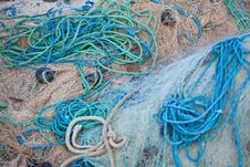 Free Fishing Nets Royalty Free Stock Photography - 21088547