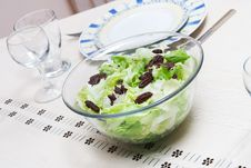 Free Lettuce Salad Royalty Free Stock Image - 21089096