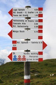 Free A Mountain Path Stock Photo - 21089190