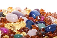 Coloful Stones Royalty Free Stock Photography
