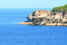 Free Lion Rock Coast Stock Photography - 21089572