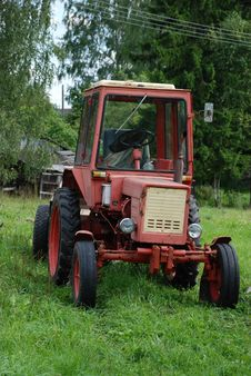 Free Tractor Royalty Free Stock Photography - 21089877