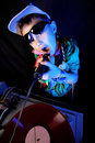 Free Kid DJ In Action Royalty Free Stock Images - 21093939