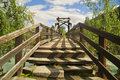 Free The Wooden Bridge Stock Image - 21094091