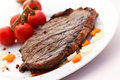 Free New York Strip Steak With Vegetables Royalty Free Stock Photos - 21095188