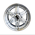 Free Alloy Wheel With Clipping Path Stock Photos - 21095403