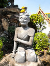 Free Ascetic Statue At Wat Pho , Bangkok Stock Images - 21096014