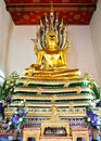 Free Buddha Statue At Wat Pho , Bangkok,Thailand Royalty Free Stock Images - 21099009