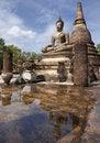 Free The Reflex Of Buddha Royalty Free Stock Photo - 21099765