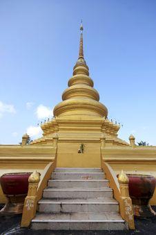 Golden Stupa Or Jedi Thai
