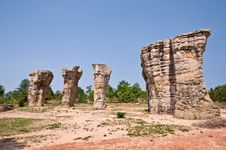 Free Stonehenge Of Thailand Stock Photo - 21090190