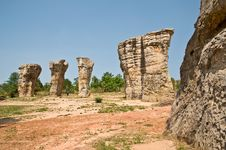 Free Stonehenge Of Thailand Royalty Free Stock Photos - 21090348