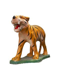 Free Statue Tiger Royalty Free Stock Image - 21090376
