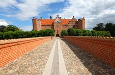 Free Castle, Medieval Fort In Denmark Royalty Free Stock Photo - 21091205