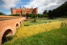 Free Castle, Medieval Fort In Denmark Stock Photography - 21091242