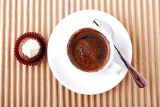 Free Cup Of Coffee Royalty Free Stock Photos - 21091358