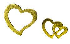 Free Three Hearts. Royalty Free Stock Photography - 21091427