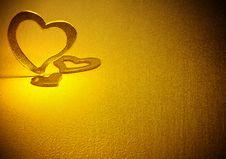 Free Three Hearts. Royalty Free Stock Image - 21091536