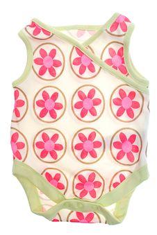Free Clothes For Newborns Bodysuit Stock Image - 21091621