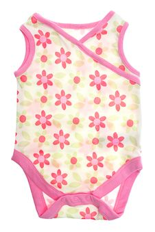 Free Clothes For Newborns Bodysuit Royalty Free Stock Image - 21091646