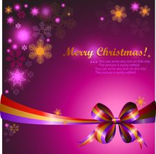 Free Christmas Background Royalty Free Stock Photography - 21092357