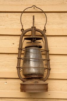 The Old Kerosene Lamp Stock Photography