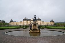 The Castle Of Drottningholm Stock Image