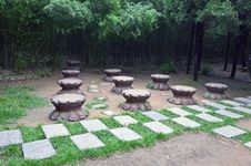 Free Bench Royalty Free Stock Photo - 21093635