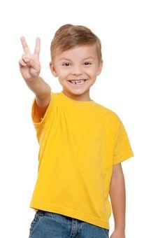 Free Portrait Of Boy Stock Photo - 21095260