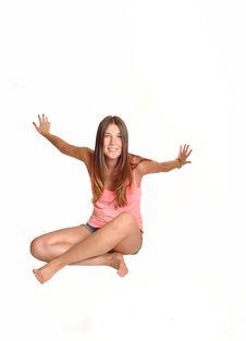 Free Girl Having Fun. Stock Images - 21095474