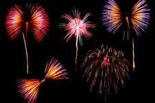 Free Fireworks Royalty Free Stock Photography - 21095577